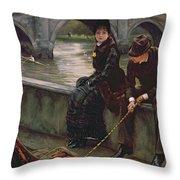 Richmond Bridge Throw Pillow