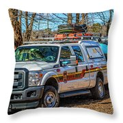 Richmond Fire And Ems Equipment 7461 Throw Pillow