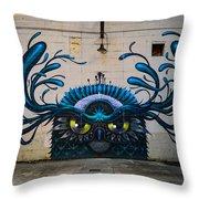 Richmond Street Art Throw Pillow