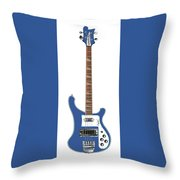 Rickenbacker Bass 4001  Throw Pillow