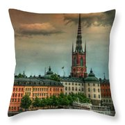 Riddarholmen Throw Pillow
