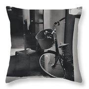 Ride Home Throw Pillow