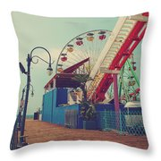 Ride It Out Throw Pillow