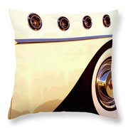 Ride Of The Century Throw Pillow