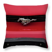 Ride The Pony Throw Pillow
