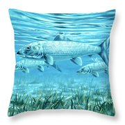 Ride The Tide Throw Pillow