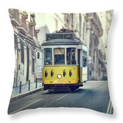 Ride These Streets Throw Pillow