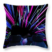 Ride Trip Throw Pillow