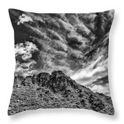 Ridge Route Throw Pillow