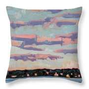 Ridge Stratocumulus Throw Pillow