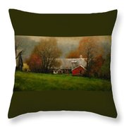 Ridgefield Farm Throw Pillow