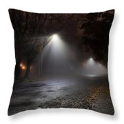 Ridgeway Fog Throw Pillow
