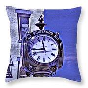 Ridgewood Time Throw Pillow