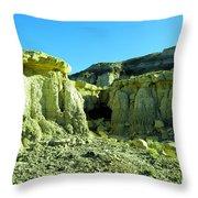 Rigid New Mexico Throw Pillow