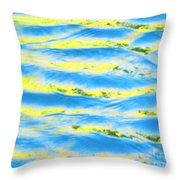 Riding A Wave Throw Pillow