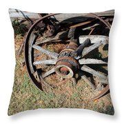 Riding Days Are Over Throw Pillow