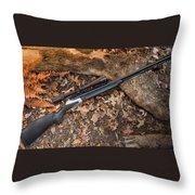 Rifle Throw Pillow