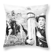 Rifleman-mark-mccain Throw Pillow