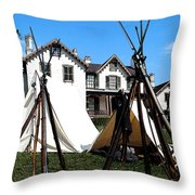 Rifles Of The Civil War Throw Pillow
