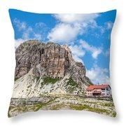 Rifugio Localtelli Throw Pillow