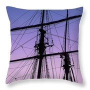 Rigged And Ready Throw Pillow