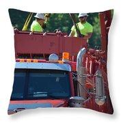 Rigging Crew Throw Pillow