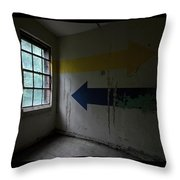 Right Direction, Wrong Time Throw Pillow