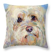 Right Here Throw Pillow