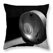 Right Turn Signal Throw Pillow