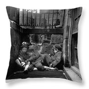 Riis: New York, 1901 Throw Pillow