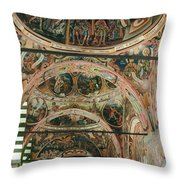Rila Monaster Throw Pillow