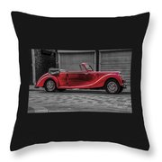 Riley Rmd 1950 Drophead Coupe Throw Pillow