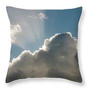 Rim-lit Cloud Throw Pillow