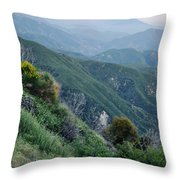 Rim O' The World National Scenic Byway II Throw Pillow