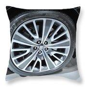 Jaguar Rim Throw Pillow