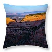 Rimrock Sundown Throw Pillow