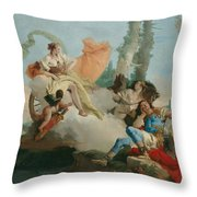 Rinaldo Enchanted By Armida Throw Pillow