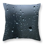 Rindrops 3 Throw Pillow