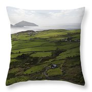 Ring Of Kerry Ireland Throw Pillow
