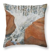 Ring Side Seats II Throw Pillow