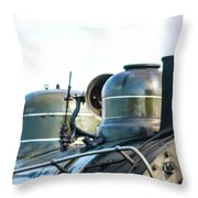 Ring That Bell Engine 26 Steamtown National Historical Site Throw Pillow