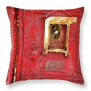Ring The Alarm Throw Pillow