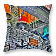 Ringing Bells Throw Pillow
