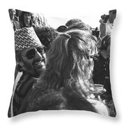 Ringo Starr In Nepal Throw Pillow