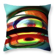 Rings # 9 Throw Pillow
