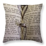 Rings From The Heart Throw Pillow