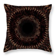 Rings Of Fire Throw Pillow