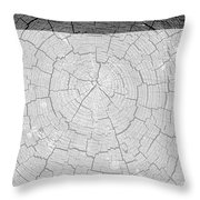 Rings Of Life Throw Pillow