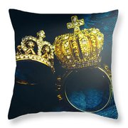 Rings Of Nobility Throw Pillow