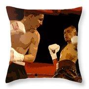 Ringside Throw Pillow